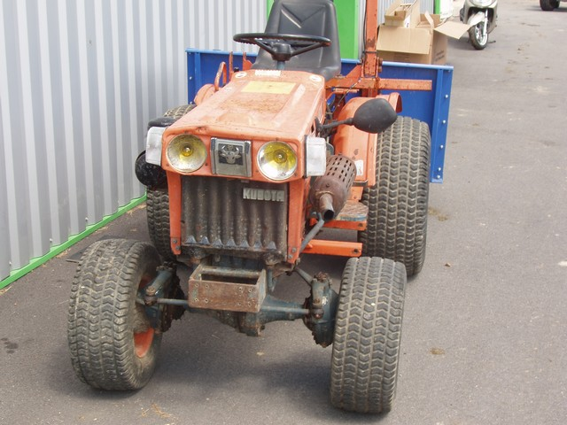 micro tracteur kubota 4 wd hydro occasion